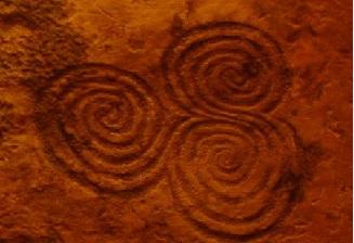Telhado de Triskelion Newgange